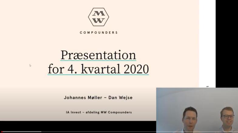 Video med kvartalspræsentation